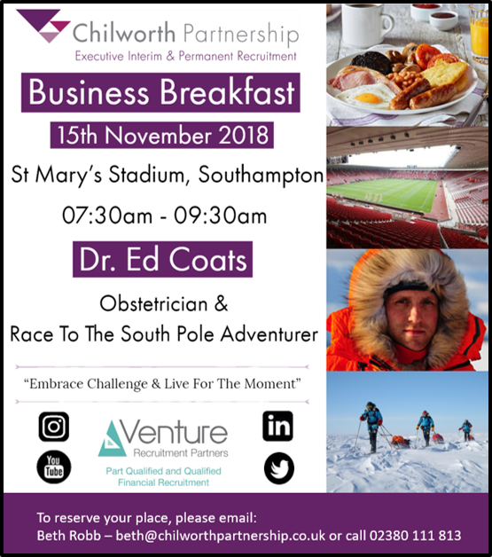 Business Breakfast Invite 2018