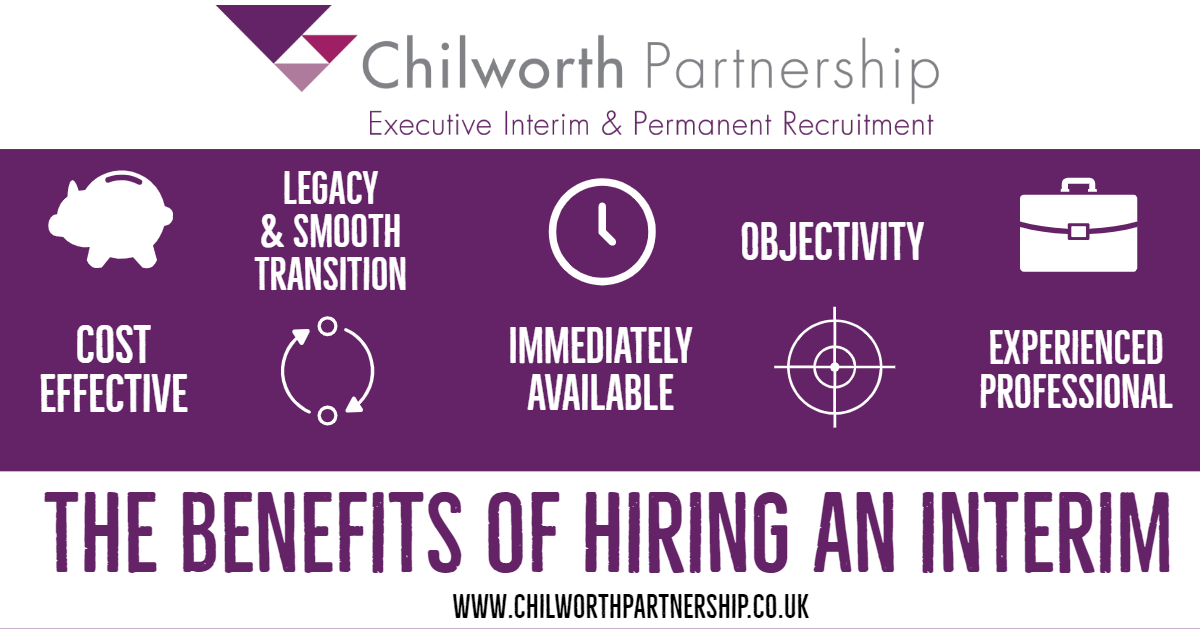 CP Benefits of hiring an interim